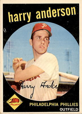 1959 Topps 85 Harry Anderson EX #D385264