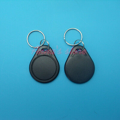 1PC black Proximity ReWritable 125KHZ RFID Card Tags with 5567/T5577/T5557 Chip
