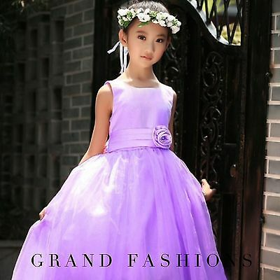 FINAL SALE  PRICE Girls Flower/Bridesmaid/Party/Princess/Prom/Wedding