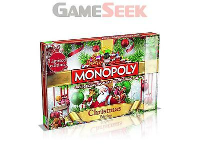 Christmas Monopoly Limited Edition - Games/puzzles Board Games Brand New