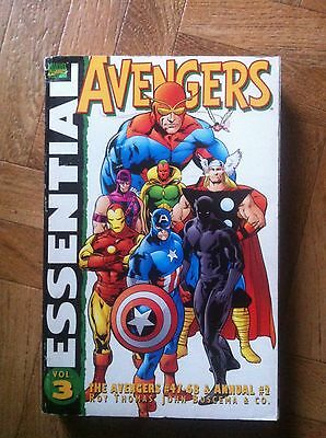 The Essential Avengers  Vol 3 First Printing  Fine (A44)