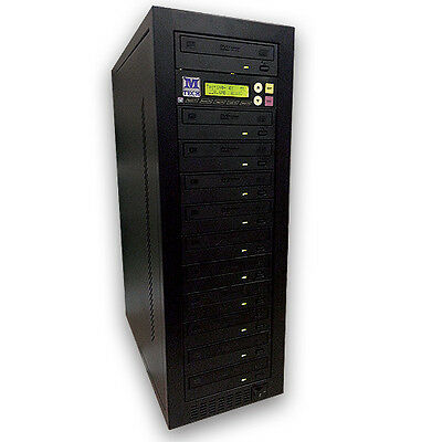 M-Tech 1-10 CD DVD Stand Alone Tower Duplicator eSATA null