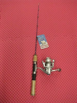 """K & E  24"""" Skandia Perch And Panfish Ice Rod And Whip'r Reel Combo  Pnrc-24"""
