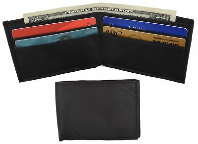 Kids Wallet Small Bifold New Black Very Cute Wallet Gift Idea Free Shipping