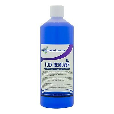 Flux Remover & PCB Cleaning Solution / fluid for Ultrasonic Cleaner (1Ltr)