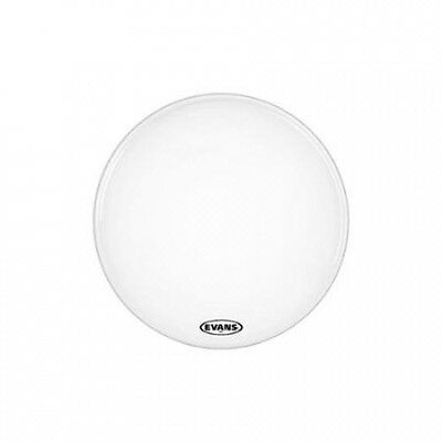 Evans MX2 White Marching Bass Head 60cm. Free Delivery