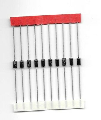 1n4005 Diodes 600v 1A Lot of 10 USA Seller