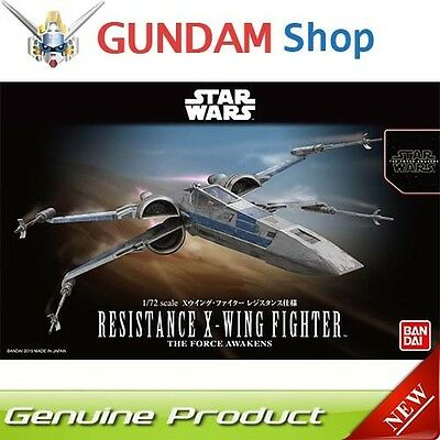 BANDAI Star Wars 1/72 Resistance X-Wing Fighter The Force Awakens No. 202289 JAP