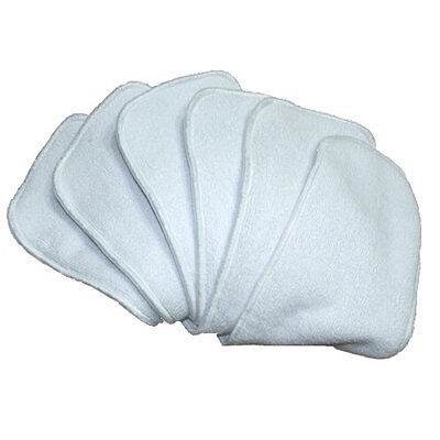20 Microfibre Inserts Liners for Modern Cloth Nappies - Absorbent & Breathable
