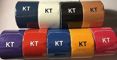 KT TAPE KINESIOLOGY THERAPEUTIC TAPE ELASTIC SPORT TAPE COTTON (20 Strips Roll)