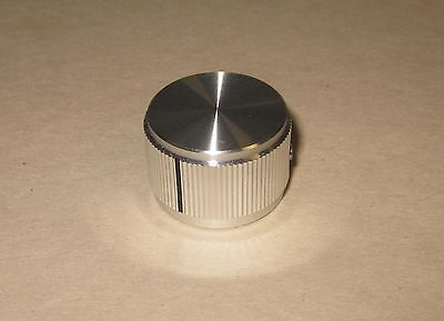 "Solid Aluminum Control Knob 15/16"" x 5/8"" (23.5x16mm) Hi-Fi Volume Tone DIY, 6mm"