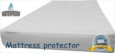 Waterproof Mattress Protector -Cot, Cot Bed Cover 60x120, 70x140, 70x160, 80x160