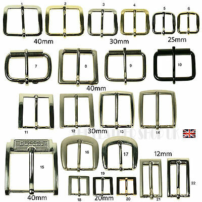 "Mix New Assorted Belt Buckles 1""-1.25""- 1.5"" INCH Choose Any Style"