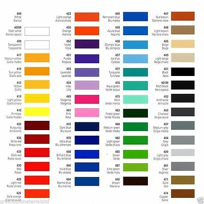 Gentle 610mm X 5m Prime Series Self Adhesive Sign Making Vinyl 54 Stunning Colours Other Sign Making Supplies