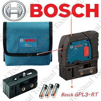 Bosch GPL3 - 3-Point Self-Leveling Alignment Laser- GPL3-RT - RECON w/WARRANTY!