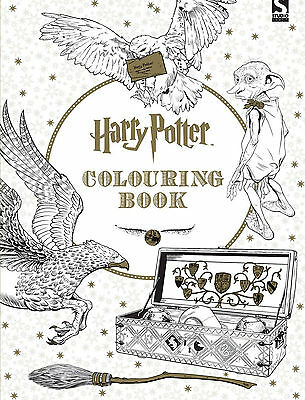 Harry Potter Adult Colouring Book Art Therapy Fast Dispatch 9781783705481