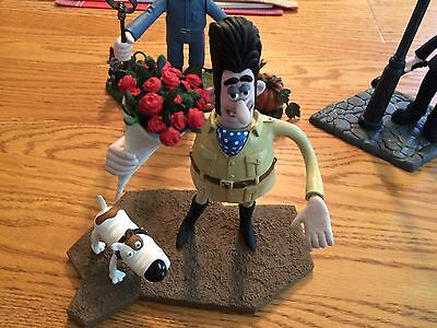lot of 5 Curse of the Were Rabbit Wallace & Gromit Figure Movie McFarlane