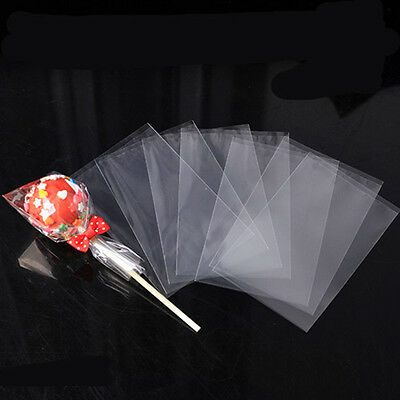 Clear Cellophane Lollipop Bags - Display Bags - Sweets - Lollipops - Crafts