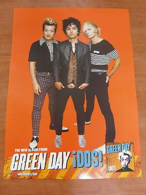 Green Day - Dos! [Official] Poster *new*
