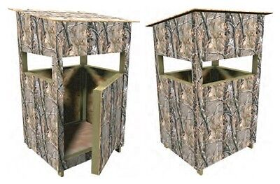DEER STAND BOX Blind Plans Portable Build Your own Easy
