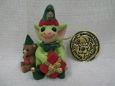 Whimsical World Of Pocket Dragons Santa's Helper by Real Musgrave NIB