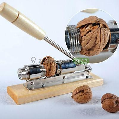 Easy Manual Kitchen Tool Nut Cracker Heavy Duty Nutcracker Sheller Walnut Opener
