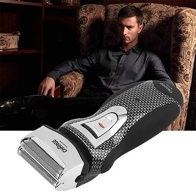 Hot Rechargeable Cordless Electric Razor Shaver Double Edge Trimmer I5