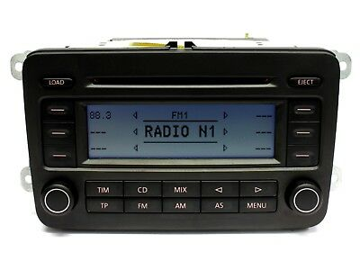 Original VW Radio RCD-500, CD Wechsler #Golf 5 V Passat 3C Touran Tiguan EOS 300
