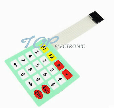 4x5 Matrix Array 20 Key Membrane Switch Keypad Keyboard 4*5 Keys