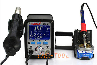 220V YIHUA 2 in1 995D Soldering Station Used For Motherboard Repair Tools 720W