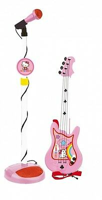 Reig Hello Kitty Guitar and Microphone. Brand New