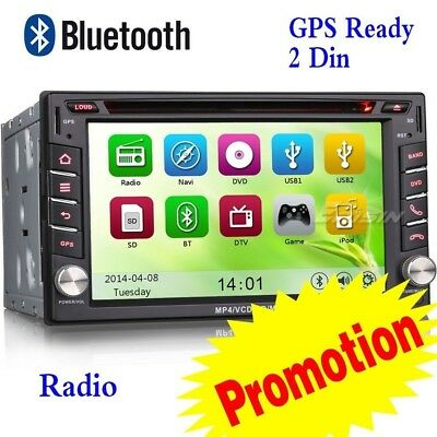 "Italia 6.2"" 2Din Nissan Autoradio Car DVD CD MP3 Stereo GPS RDS Bluetooth 7610IT"
