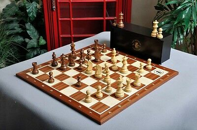 USCF Sales The Championship Series Chess Set, Box, & Board Combination