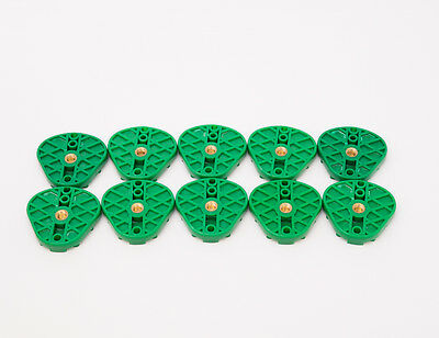 New Dental Plastic Disposable Oblong Articulating Mounting Plates Green