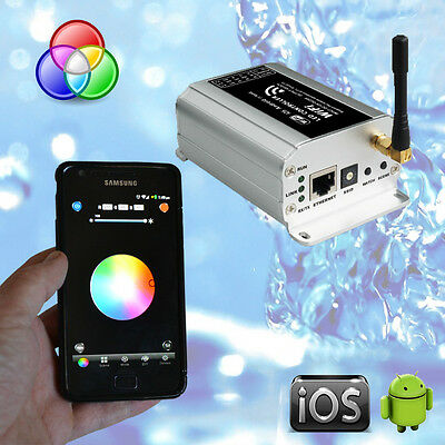 Pool Light WiFi RGB Controller High Tech - Use Phone or Tablet