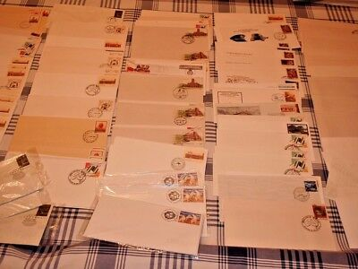 FDC covers/envelopes Bulk Cancellation Unsorted Unused