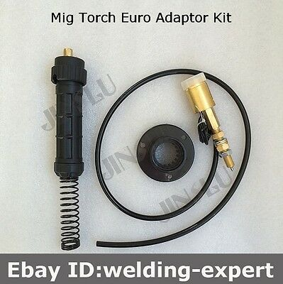 Euro Fitting Mig Welding Torch Adaptor Conversion kit