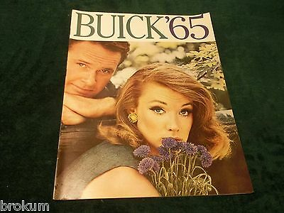 1965 Buick All Models Dealer Sales Brochure 46 Pages Original (Box 546)