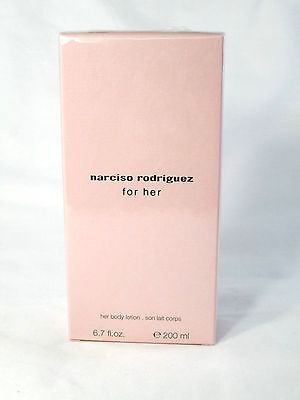 Narciso Rodriguez for Her Body Lotion ~ 6.7 oz ~ BNIB
