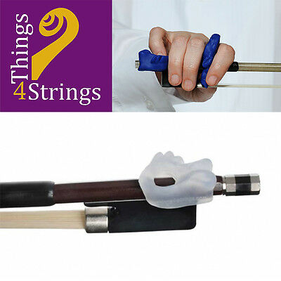 Things 4 Strings Bow Hold Fish for Pinky Support - Frosted Clear