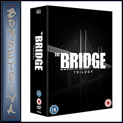 The Bridge - Trilogy - Complete Seasons 1 2 & 3  *brand New Dvd Boxset***