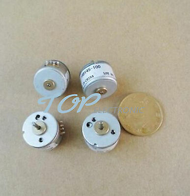 2pcs New two-phase four-wire 15MM stepper motor