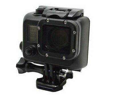 Black Diving Waterproof Underwater Case Hard Housing Shell f GoPro HD Hero 3 3+