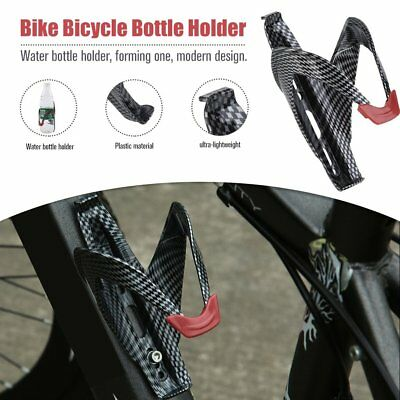 Cycling Bicycle Outdoor Carbon Imitation Fiber Water Bottle Drinks Holder Cages