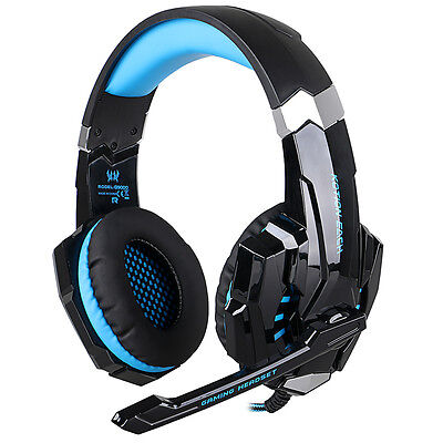 Gaming Headset Headband LED Headphones+ Mic for PS4 Playstation 4 PC TH229