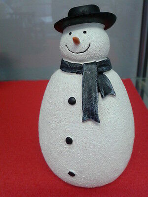 Dolls House Miniatures 1/12th Scale Accessory Resin Snowman New