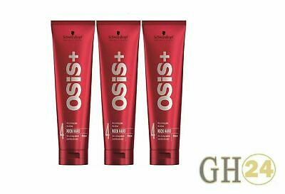 3x Schwarzkopf Osis Rock Hard Ultra strong glue 150 ml