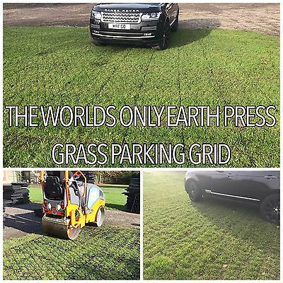 GRASS GRID PARKING DRIVEWAY GRIDS PLASTIC GRID BASE GRAVEL & GRASS CAR PARK e