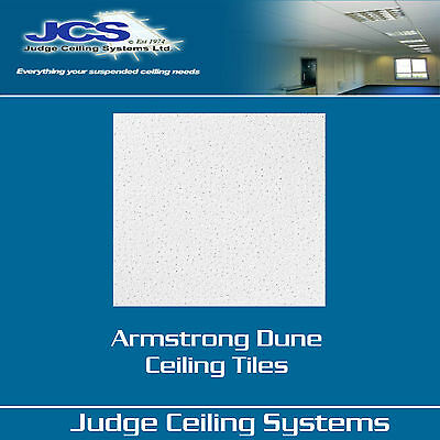 Armstrong Dune Reveal Edge Suspended Ceiling Tiles - 24mm Grid - Box Of 16