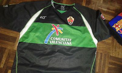 Jose Vega Match WOrn Elche CF Madrid Camiseta Futbol Football SHirt